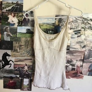 🌸FREE PEOPLE🌸 vintage tank top